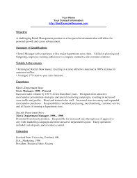 Retail Manager Resume Examples Elegant Food Service Resume Samples