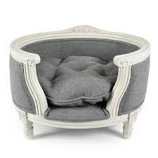 luxury pet furniture. luxury pet sofa george burlap grey lord lou furniture