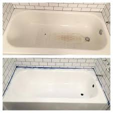 ceramic tub paint beautiful refinishing a porcelain tub best bathtub refinishing ideas on tub refinishing tub