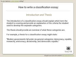 how to write a classification essay  4 do you need any custom essays writing