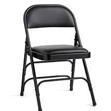 49752 vinyl padded steel folding chair