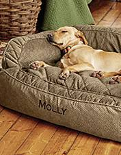 our fortfill couch dog bed wraps your dog in the soft supportive fort she deserves