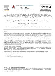 Potential Problems Of Poor Database Design Pdf Identifying New Directions In Database Performance Tuning
