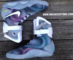 nike air mags. nike air mag customized by mache (2) mags n