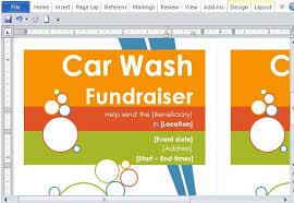 Flyer Templates Microsoft Word Fundraiser Flyer Templates Microsoft Word Rosejuice Info