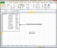 Cross Chart Excel Cross Referencing In Excel 2010 Tutorialspoint