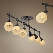 pro track elm park collection bronze 6 light fixture brass track lighting