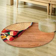 Wooden Living Room Best Amazon Round Rugs For Bedroom Mexican Decorations Ethnic