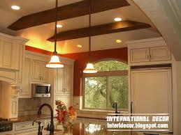 design classic lighting. Rustic False Ceiling Faux Design Classic Kitchens Lighting D