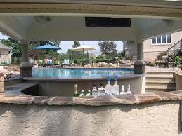 home pool bar. Pool, Pool House And Swim Up Bar Traditional-pool Home -