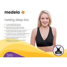 Medela Nursing Bra For Sleep And Breastfeeding Crisscross Front Racerback Bra Four Way Stretch Fabric Easy To Care And Maintain Oeko Tex