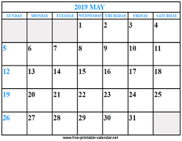 print a calendar 2019 print calendar 2019 may download print calendars from free