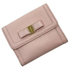 ferragamo wallet rose folio wallet pink salmon pink used leather salvatore ferragamo the woman popularity
