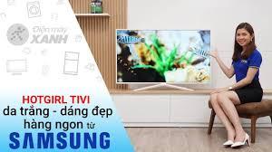 Điện máy XANH (dienmayxanh.com) - Hotgirl TV da trắng, dáng đẹp, hàng ngon  - Smart Tivi Samsung UA49N5510