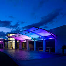 East Texas Lighting Ptfe Architectural Membrane For Tensile Structures For