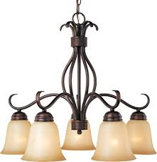 old and vintage hanging cast iron chandeliers with white five