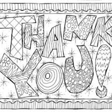 Free Kids Color Pages Thank You Cards Easy Printables Thank You Card