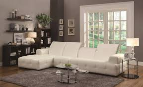 bobs sectional sofa luxury awesome sacramento cream leather with left facing cream leather sectional c32
