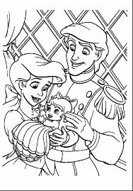 The Little Mermaid Coloring Pages Free To Print Awesome Games Best