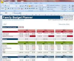 11 Family Budget Planner Simple Invoice