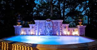 cheap outdoor lighting ideas. Awesome Kitchen With Pool Imanada Architecture Cheap And Romantic Outdoor Lighting Ideas Landscape Lovely Luxurious Crashers