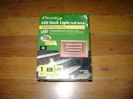 Malibu Led Deck Light Half Brick Gtin 885305003327 Malibu Path Landscape Lights Low