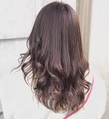 ピンクアッシュの暗めヘアカラー13選ブリーチなしの髪色と市販カラー剤
