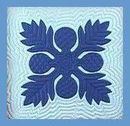 64 best Hawaiian Quilts and instructions images on Pinterest ... & Free Ulu pattern and instructions - Ulu is the Hawaiian word for  Breadfruit. Traditionally the Ulu pattern is the first quilt made for the  home to ensure ... Adamdwight.com