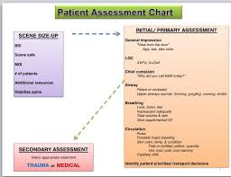 Chart Method Ems Template Patient Assessment Ems Emt Basic Emergency Medical