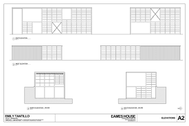 Interior Design Architecture Student Portfolio Case Study Eames