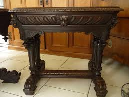 antique hall table. Antique Hall Table I
