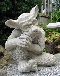precast garden statues country garden