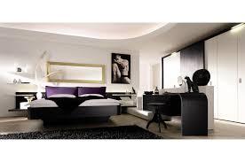 bedroom modern white. Bedroom. Modern Study Room Presenting Black Glossy Desk And Stool Added By Bedroom White