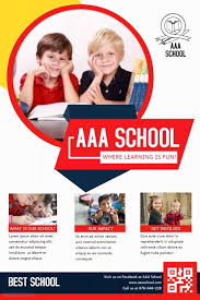 School Poster Designs Primary School Admission Poster Template Postermywall