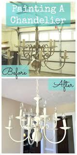 paint a chandelier chandelier makeovers paint a chandelier makeover easy ideas for old brass crystal paint chandelier globes