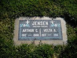 Velta Avis Holcomb Jensen (1917-2011) - Find A Grave Memorial