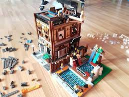 How to integrate Ninjago City & Docks in a Modular town layout? - Page 2 - LEGO  Town - Eurobricks Forums