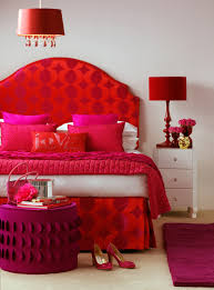 red bedroom color ideas. Fuchsia-bedroom-design Red Bedroom Color Ideas