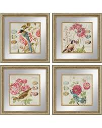 >new savings on paragon decor bird study framed wall art set of 4 paragon decor bird study framed wall art set of 4