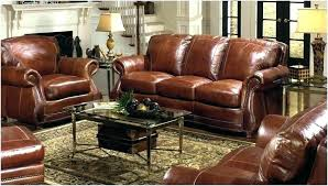 inspirtionl set deep leather sectional 46 inch ed deep leather sectional