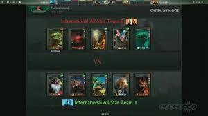 the international dota 2 all star match video dailymotion