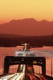 dropbox seattle office mt. 520 bridge and mt olympic at sunset seattle wa stock photo dropbox office b