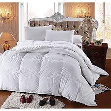 best comforters 2017. Interesting 2017 Royal Hotelu0027s 300 Thread Count King Size Goose Down Alternative Comforter  100 Cotton TC  750FP 86Oz Solid White In Best Comforters 2017 E
