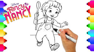 Select from 32494 printable crafts of cartoons, nature, animals, bible and many more. Learn How To Draw Jojo From Disney S Hit New Show Fancy Nancy Fancy Nancy Coloring Pages For Kids Youtube