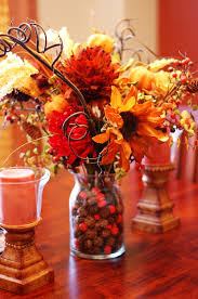 ... Ideas Large Size Small Round Thanksgiving Home Decorating Ideas On Blue  Wooden Wall. Design ...