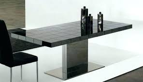 glass top double pedestal dining table. contemporary rectangular pedestal dining table modern wood glass top solid trestle black metal single kitchen tables room full size double u