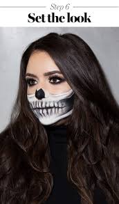 it s got all the y marks of clic skeleton makeup o those teeth but let s you still wear a fierce as smoky eye