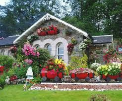 Small House Flower Garden House Decor Ideas, Garden idea