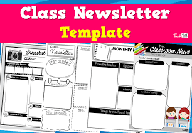 Class Newsletter Class Newsletter Template Teacher Resources And Classroom