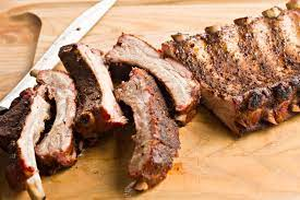 smoked ribs from pitmaster melissa cookston